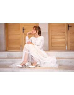 zapatos comodos novia
