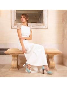 sandalias novia colores