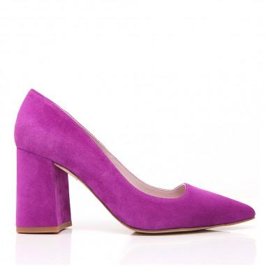 zapatos morados fiesta