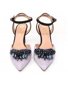 zapatos malva