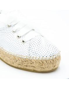 zapatillas de novia blancas
