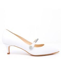 zapatos blanco novia
