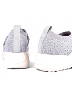 zapatillas plata