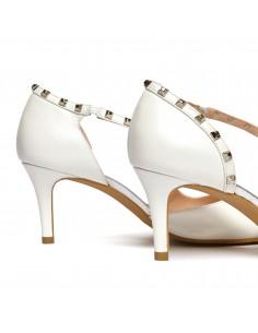 zapatos novia tacon bajo