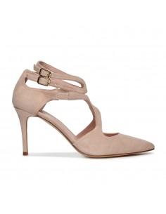 zapatos para novia con tiras cruzadas