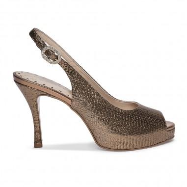 sandalia bronce