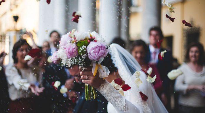 arroz en las bodas