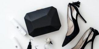 clutch de fiesta negro