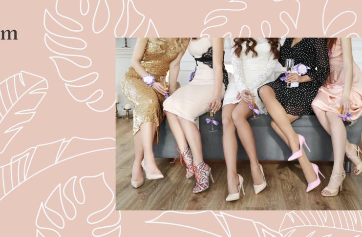 Tipos de tacones de zapatos de mujer