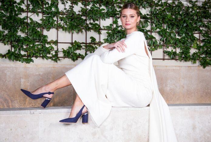 zapatos boda con vestido de novia
