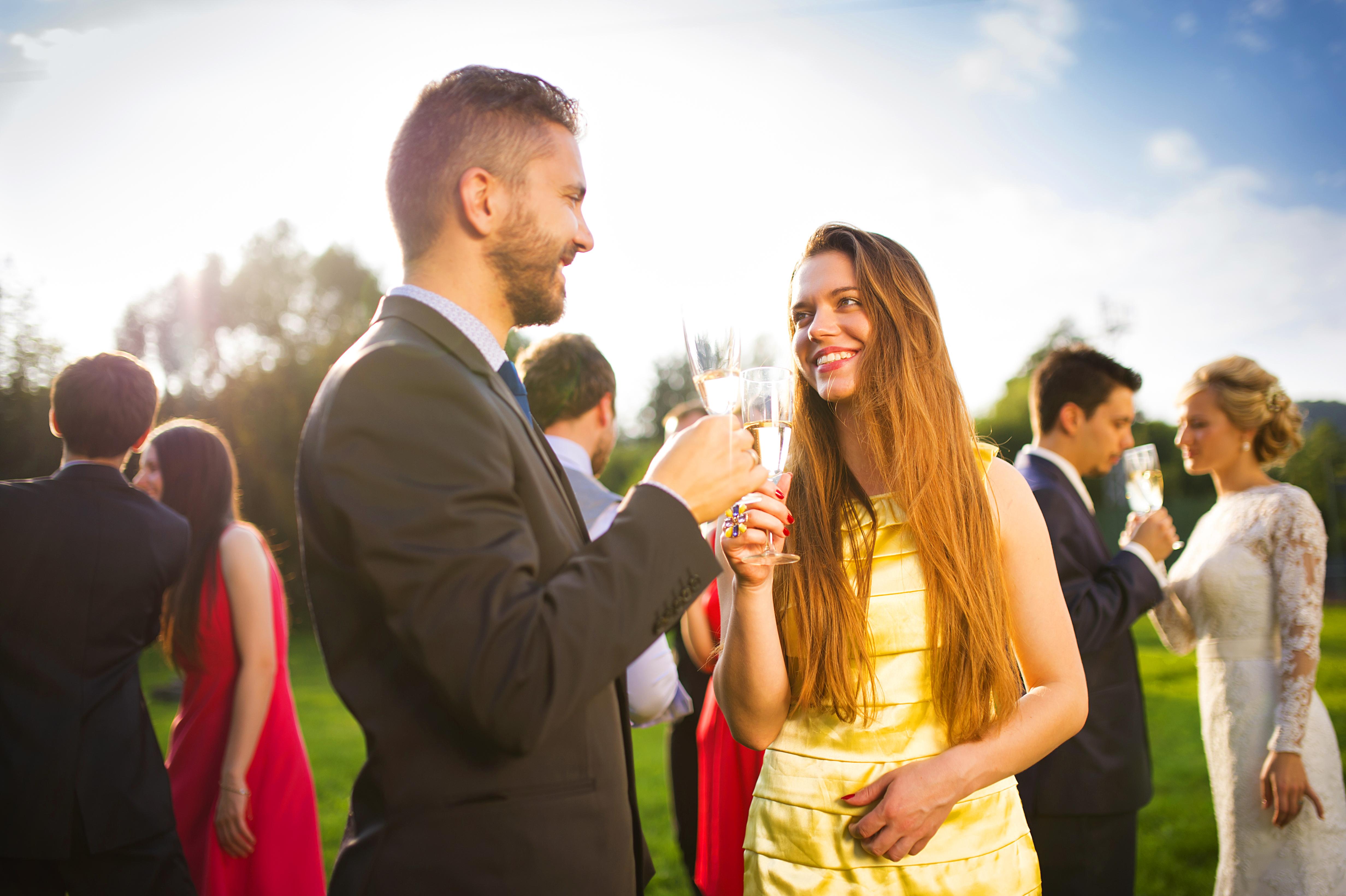 protocolo boda de tarde noche
