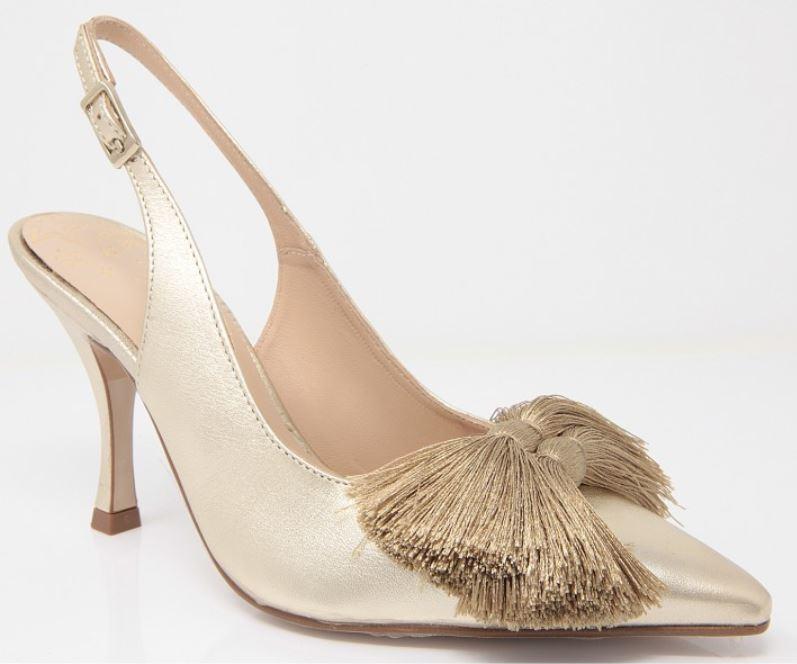 zapato dorado de diDom