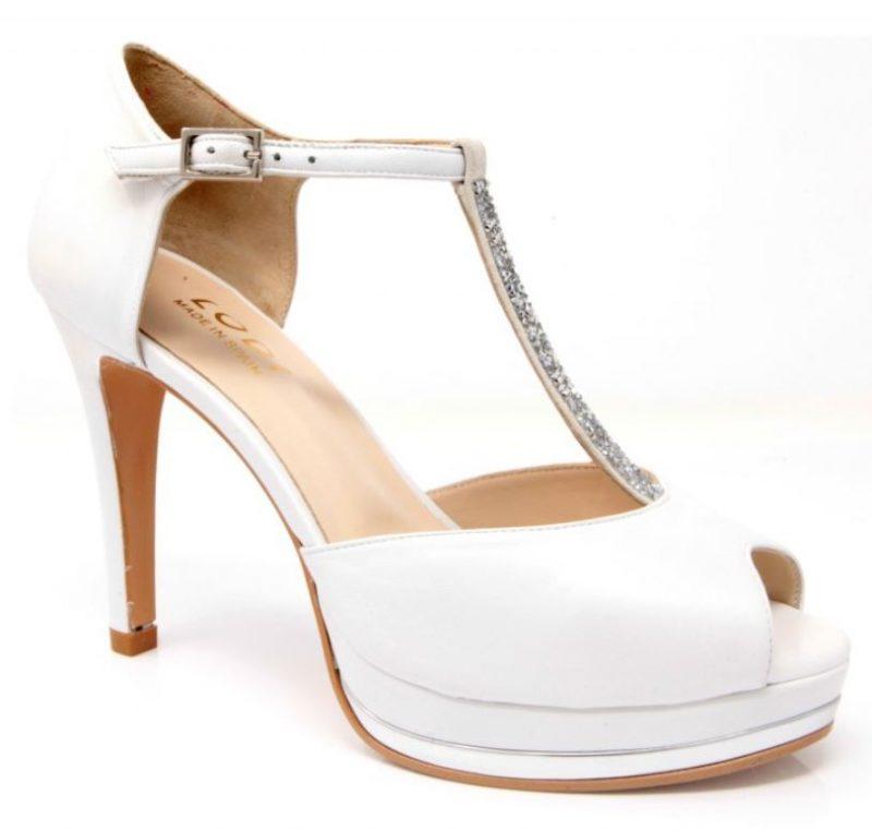 zapatos blancos lodi