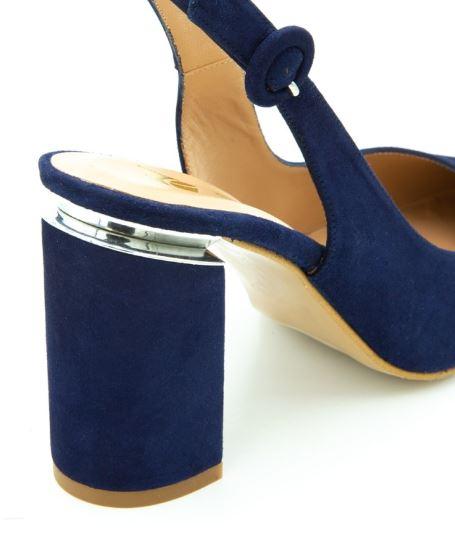 zapatos de salon tacon ancho