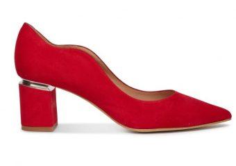 zapatos originales rojos