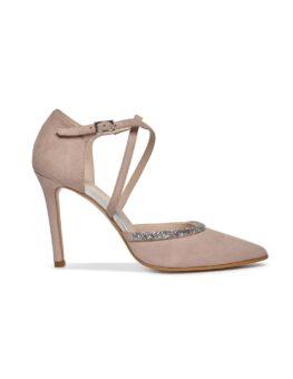 zapato novia tiras