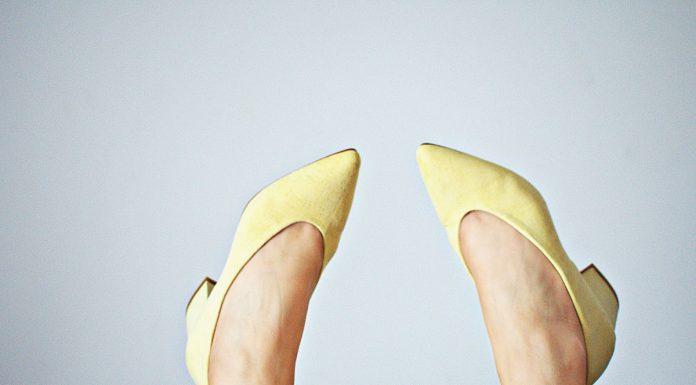 Zapato de cuña o tacón